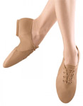 bloch s0405g girls jazzsoft jazz shoe tan color swatch
