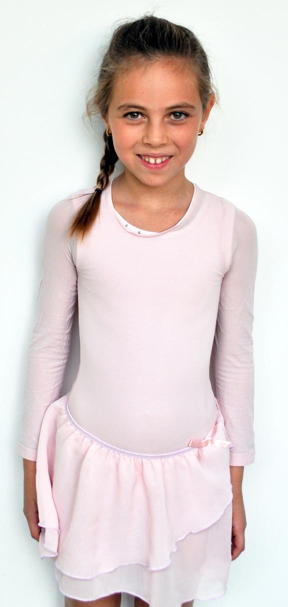 amb design 2010 abby long sleeve sheer top