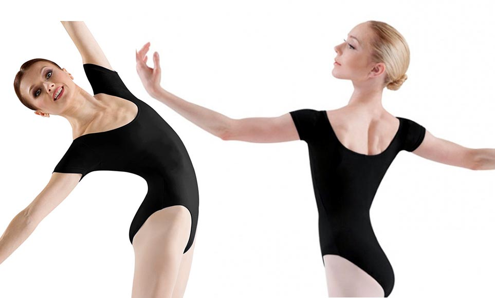 bloch l5402 short sleeve leotard