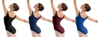 bloch l5405 adult tank leotard color swatch 2