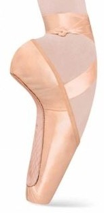 bloch es0160l  es0160s european balance pointe shoe color swatch