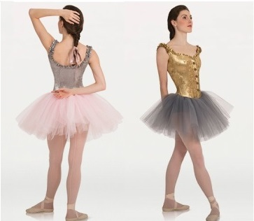 body wrappers p9000 adult tutu with metallic panne velvet corset color swatch