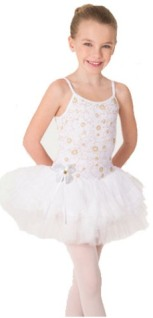 body wrappers 2300 child precious camisole velvet bodice tutu leotard