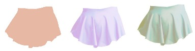 capezio mc814w meryl collection adult circle skirt color swatch 2