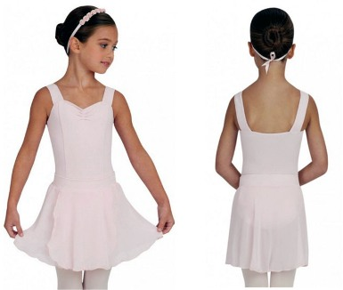capezio tc0011c tactel collection childrens pull on skirt