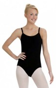 capezio cc110 camisole leotard with bratek color swatch