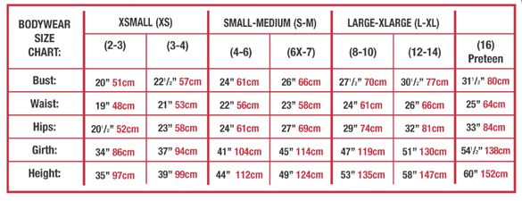 body wrappers 2300 child precious camisole velvet bodice tutu leotard sizing chart