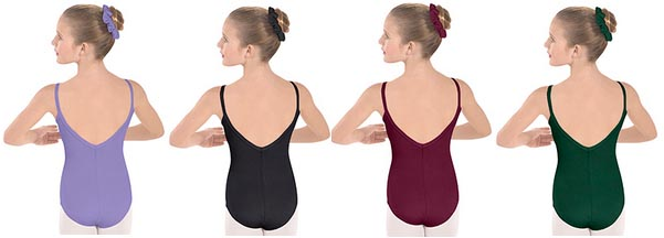 eurotard 10527c child cotton lycra camisole leotard color swatch 1