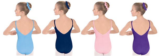 eurotard 10527c child cotton lycra camisole leotard color swatch 2