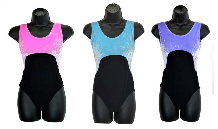 eurotard 29639 two tone leotard color swatch