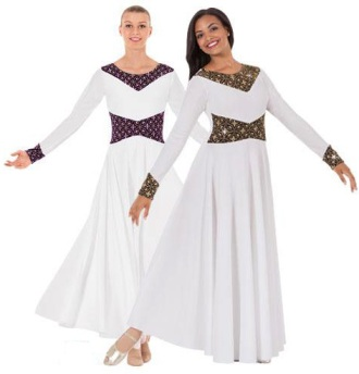 eurotard 43866 royalty praise dress color swatch