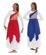 eurotard 79567 blessed grace praise tunic color swatch