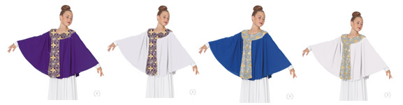 eurotard 81117 tabernacle praise cape color swatch