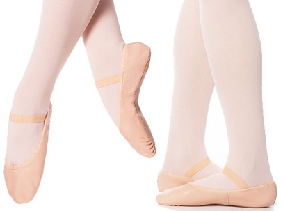 eurotard child tendu full sole leather ballet slipper