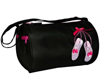horizon dance 6770 sparkle duffle - black