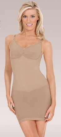 julie france leger jfl16 ultralight cami dress shaper