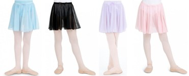 capezio n1417c child pull on circular skirt color swatch