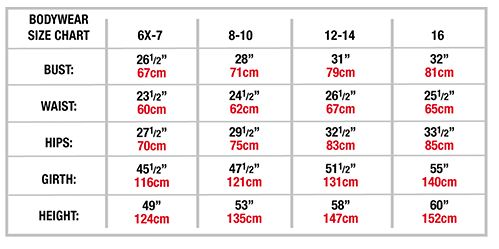 body wrappers p1080 tiler peck lace back tank leotard child sizing chart