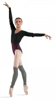 bloch z6519b long sleeve jumper