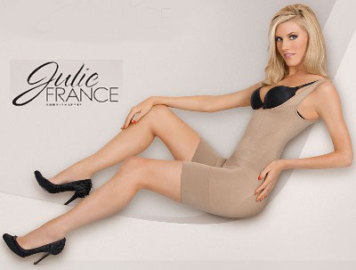 jf001 julie france frontless body shaper