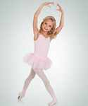 body wrappers 2231 child princess aurora microfiber camisole tutu leotard