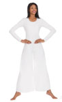 eurotard 13842 scoop neck liturgical dance jumpsuit