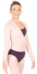 bloch z0910 cross-over knit cardigan