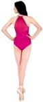 body wrappers power mesh leotard p1000