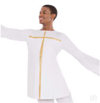 eurotard 13830 mens and boys faith praise top