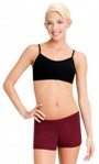 capezio tb102 team basics adult camisole bra top