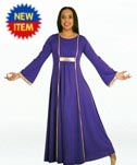 body wrappers 518 praise dance dress with princess seam panels