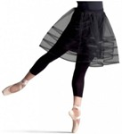 capezio 10730w clock strikes tutu skirt