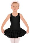eurotard 33915c child v neck tutu dress