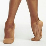 capezio h063 turning pointe 55 leather lyrical shoes