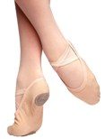 russian pointe vivante canvas stretch ballet shoe