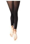 capezio 1917 adult footless tights with self knit waist band