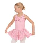 eurotard 05456 child skirted camisole leotard