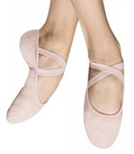 bloch s0284l ladies performa canvas ballet shoes