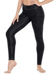 eurotard 66337 women's distressed contour leggings