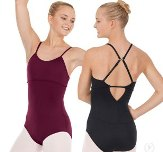 eurotard 44822 tactel microfiber adjustable convertible racerback leotard