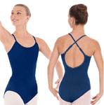 eurotard 10819 cotton lycra convertible camisole leotard