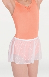 body wrappers p1104 tiler peck dotted skirt