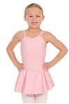 eurotard 44453 child camisole dance dress with tactel microfiber