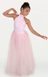 body wrappers lc111 girls backless tutu dress