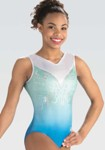 gk elite 10503 delightful beauty gymnastics leotard