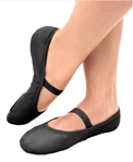 so danca sd70l adult stretch leather ballet slipper
