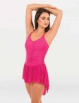 body wrappers bwp404 double strap camisole dance dress