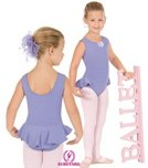 eurotard 1703,eu 1703,1703,leotard with attached skirt,leotard with skirt attached