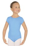 eurotard 44475c child microfiber short sleeve leotard