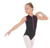 eurotard 44518c child zipper front leotard